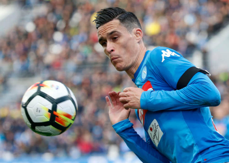 Jose Callejon of Napoli