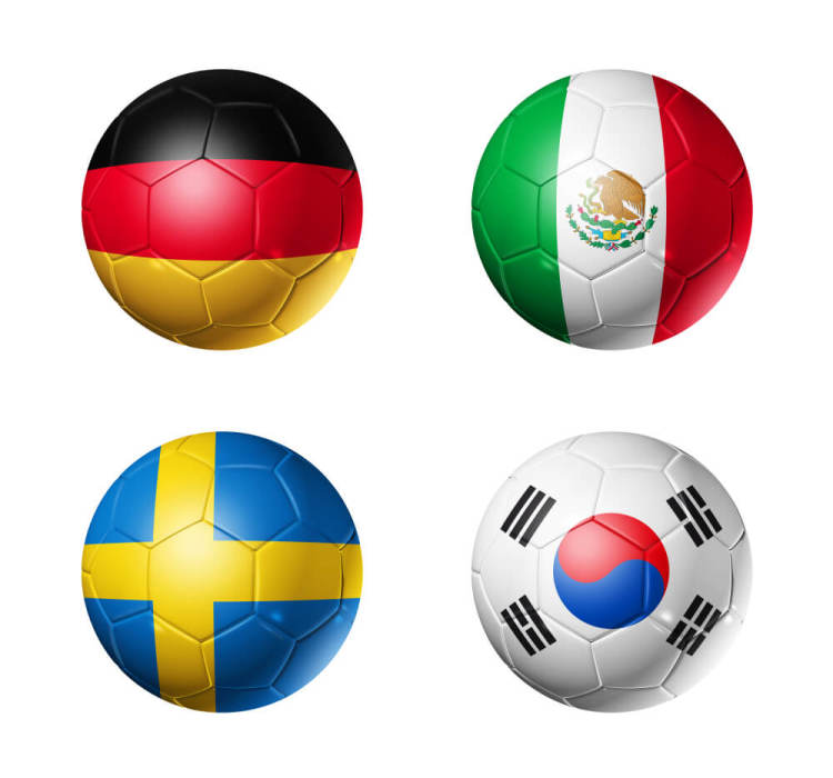 World Cup Group F Countries