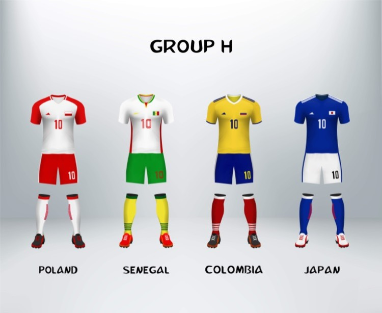 World Cup Group H Teams