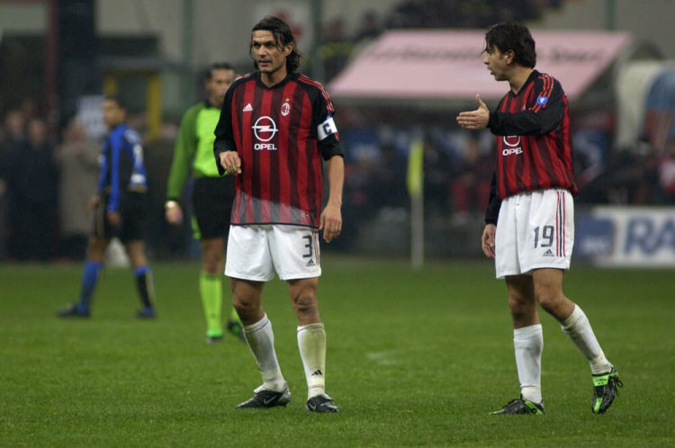 Paolo Maldini & Billy Costacurta
